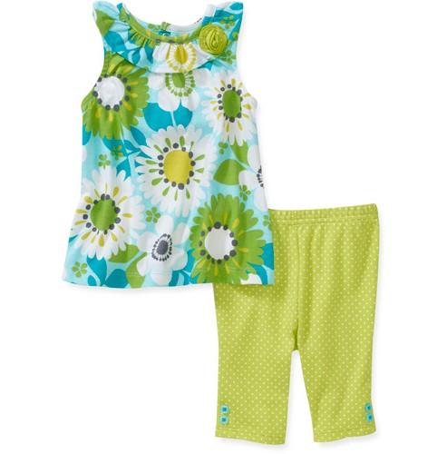 מארז גופיה ומכנסיים לתינוקת של Carter's – חמניות או לא להיות