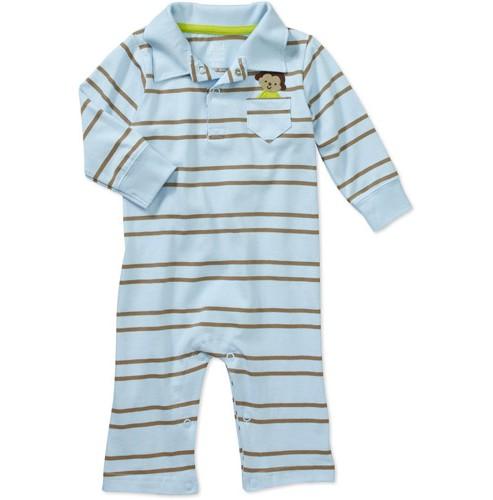 בגד גוף אוברול לתינוק של Carter's – קופיף בכיס