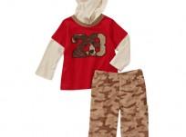 מארז חולצת קפוצ'ון ומכנסיים לתינוק של Carter's – הודיז