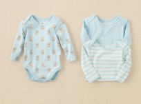 מארז שלישיית בגדי גוף מודפסים לתינוק של Children's Place – דובונים