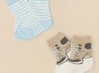מארז 2 זוגות גרביים לתינוק של Children's Place – משחק ילדים