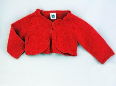 קרדיגן חגיגי לתינוקת של Carter's – אדום מנצנץ