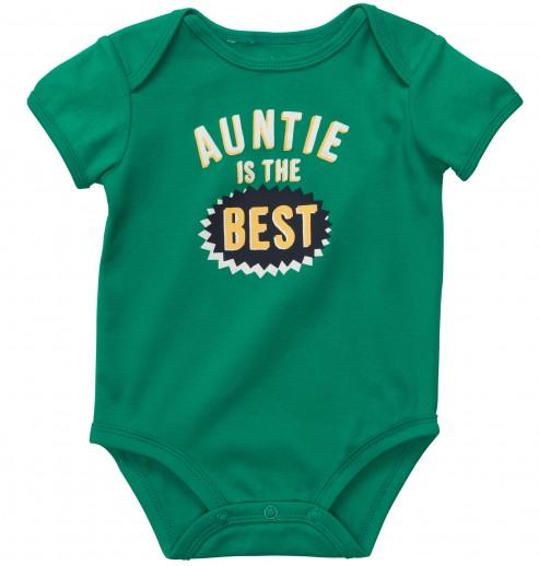 """בגד גוף לתינוק של Carter's – """"חיים של דודה"""""""