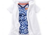 """בגד ים מטריף וחלוק מגבת תואם עם כובע של Carter's – מבצע מיוחד רק 79 ש""""ח!"""