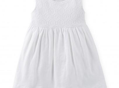 שמלה לתינוקת של Carter's – יפה ברמות של כלה