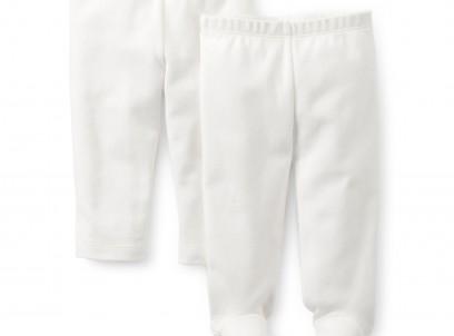 מארז 2 מכנסי טייץ לתינוקת מבית Carter's – בייסיק