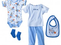 מארז מתנת לידה לתינוק 0-3M של Hudson Baby – ביגוד ראשוני