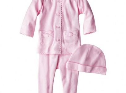 מארז חולצה, מכנסיים וכובע לתינוקת מבית Carter's – פינקי