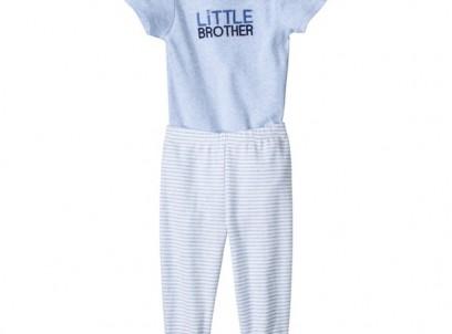 מארז בגד גוף ומכנסיים לתינוק של Carter's – אחי הקטן