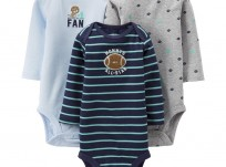 שלישיית בגדי גוף לתינוק של Carter's – Mommy's All-Star