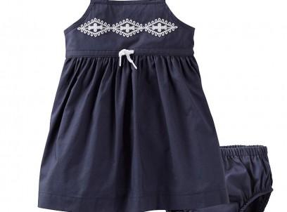 שמלה לתינוקת של Carter's – היידי בת ההרים נייבי