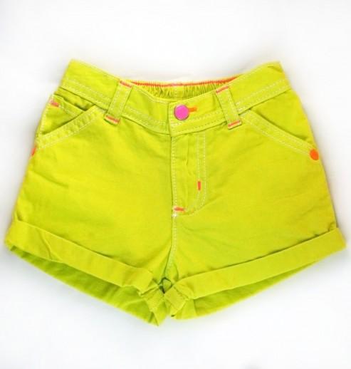 מכנסיים לתינוקת מבית carter's – ירוק ניאון