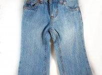 מכנסי ג'ינס ארוך לתינוקת מבית Old Navy – משופשף