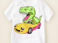 חולצה קצרה לתינוק מבית Children's Place – טירנוזאור רקס