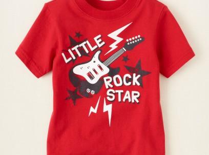 חולצה לתינוק מבית Children's Place – רוק סטאר