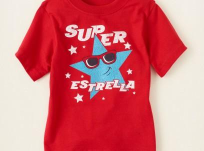 חולצה קצרה לילד מבית Children's Place – סופר סטאר