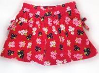 חצאית קורדרוי של Crazy8 – ורודה עם כיסים