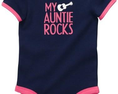 בגד גוף לתינוקת של Carter's – דודה שלי שולטתתת