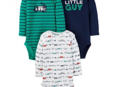 שלישיית בגדי גוף לתינוק של Carter's – על כביש החוף