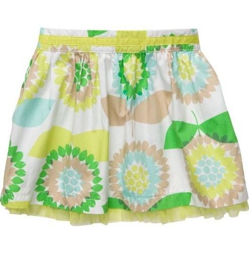 חצאית אביבית לתינוקת מבית Carter's – הפרח בגני
