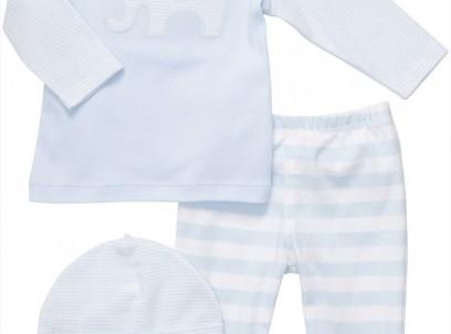 מארז במידת Preemie (פג) חולצה מכנסיים וכובע של Carter's – פילפילון