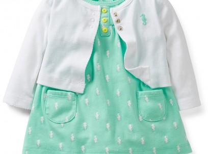בגד גוף שמלה וקרדיגן לתינוקת של Carter's – ליידי סיביל