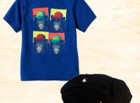 מארז לתינוק – חולצה בהדפס קופים וכובע קסקט של Children's Place