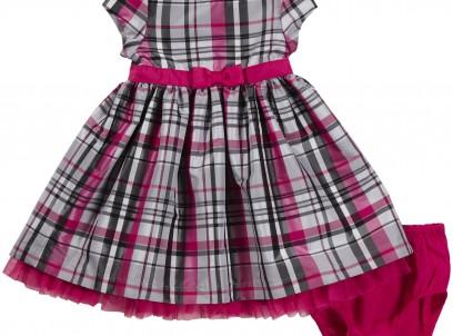 שמלת תינוקת במידת NB של Carter's – שמלת הוט קוטור