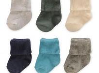 שישיית גרביים של Carter's – מידות 0-3 חודשים