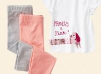 מארז חולצה ושני זוגות מכנסי טייץ לתינוקת