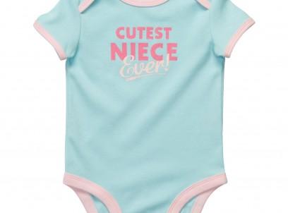 בגד גוף לתינוקת של Carter's – האחיינית הכי מתוקה שיש