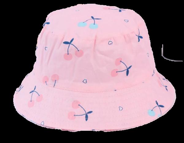 כובע טמבל תינוקות בנות ורוד דובדבנים