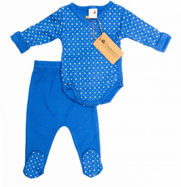 סט בגד גוף ארוך ורגליות לתינוק