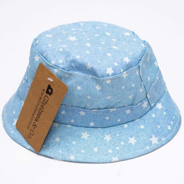 כובע טמבל כחול כוכבים