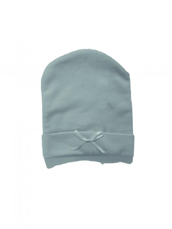כובע חורף תינוקות תכלת