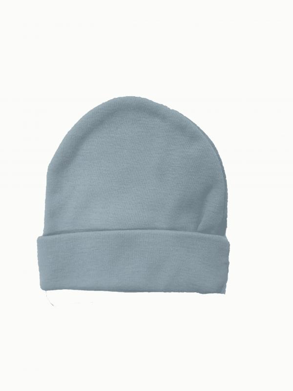 כובע צמר תכלת