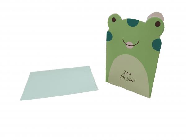 כרטיס ברכה+ מעטפה למתנה
