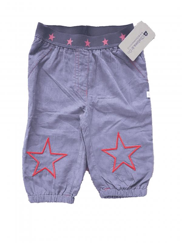 מכנסיים חומות עם כוכב אדום 100% כותנה