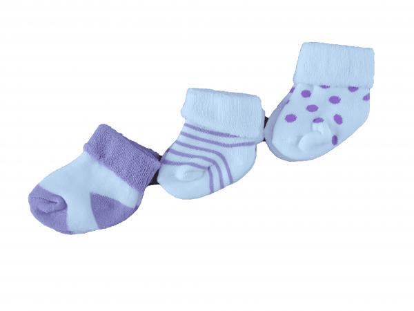 שלישיית גרבי תינוקות עבות לחורף
