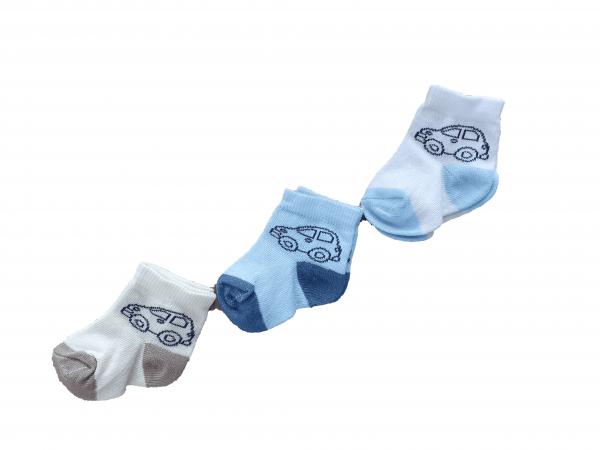 שלישיית גרביים דקות תינוקות