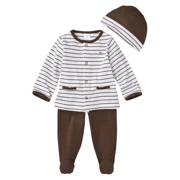 מארז חולצה, מכנסיים וכובע של Carter's – חורפי מפנק