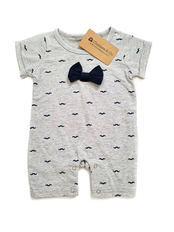 אוברול תינוקות עם פפיון