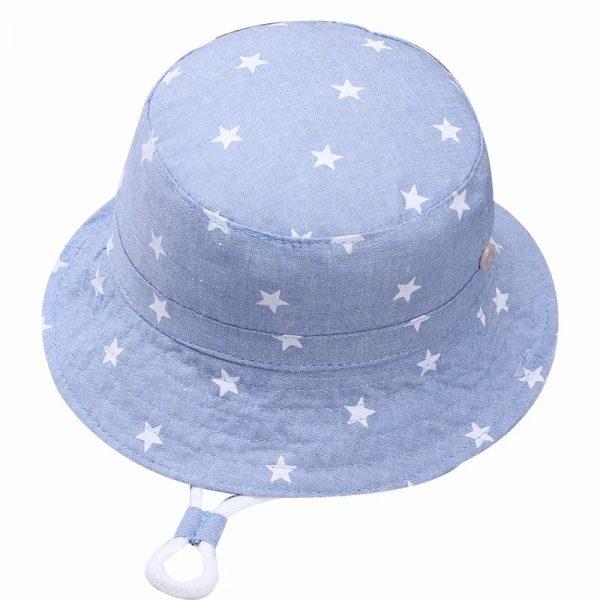 כובע טמבל תינוקות תכלת כוכבים