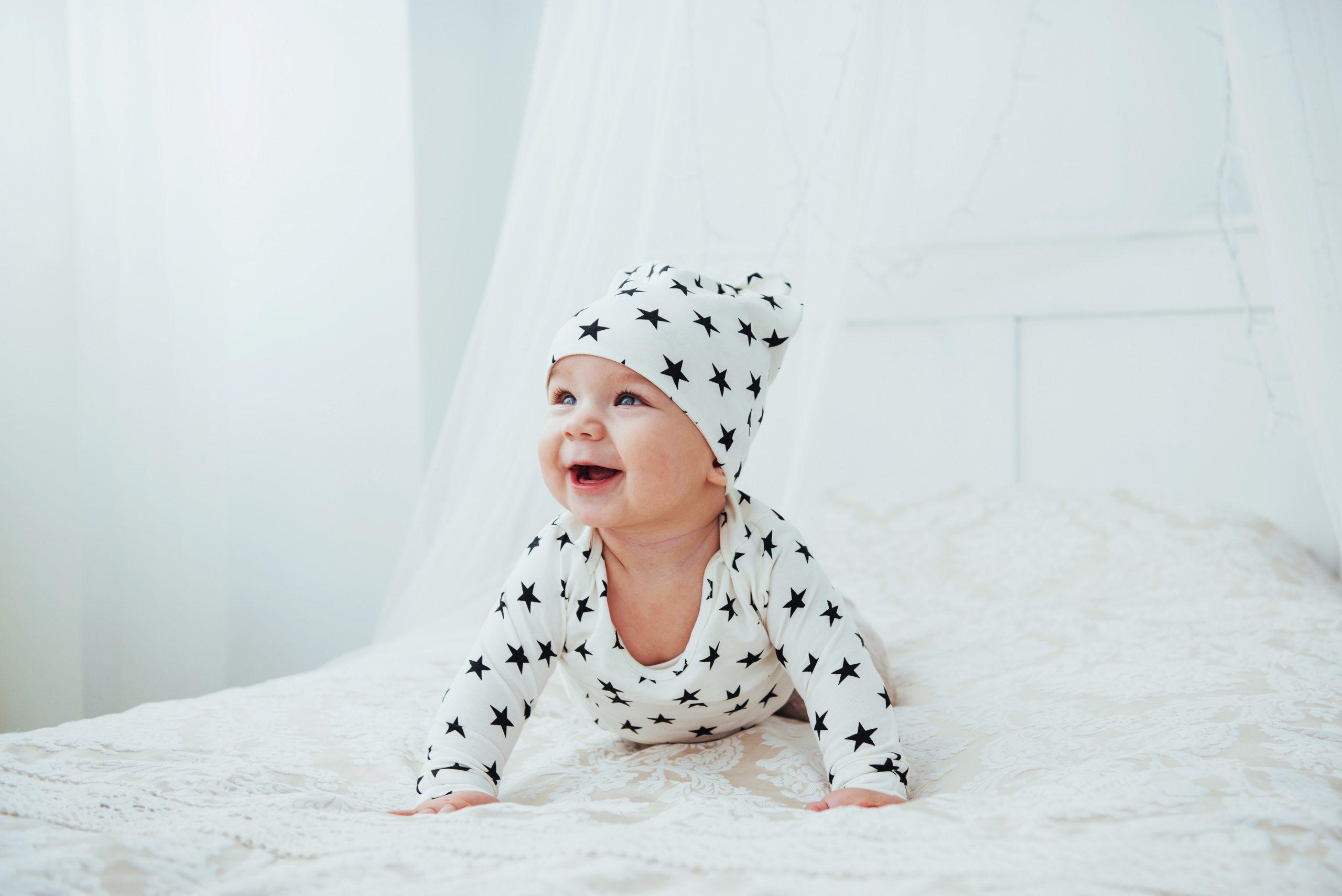 התפתחות תינוק בגיל ארבעה חודשים